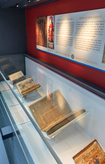 Manuscripts at the National Library of Wales.